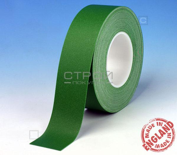 Зеленая лента виниловая самоклеющаяся Resilient, с противоскользящим эффектом. Ширина: 2,5 см, Длина: 18,3 метра