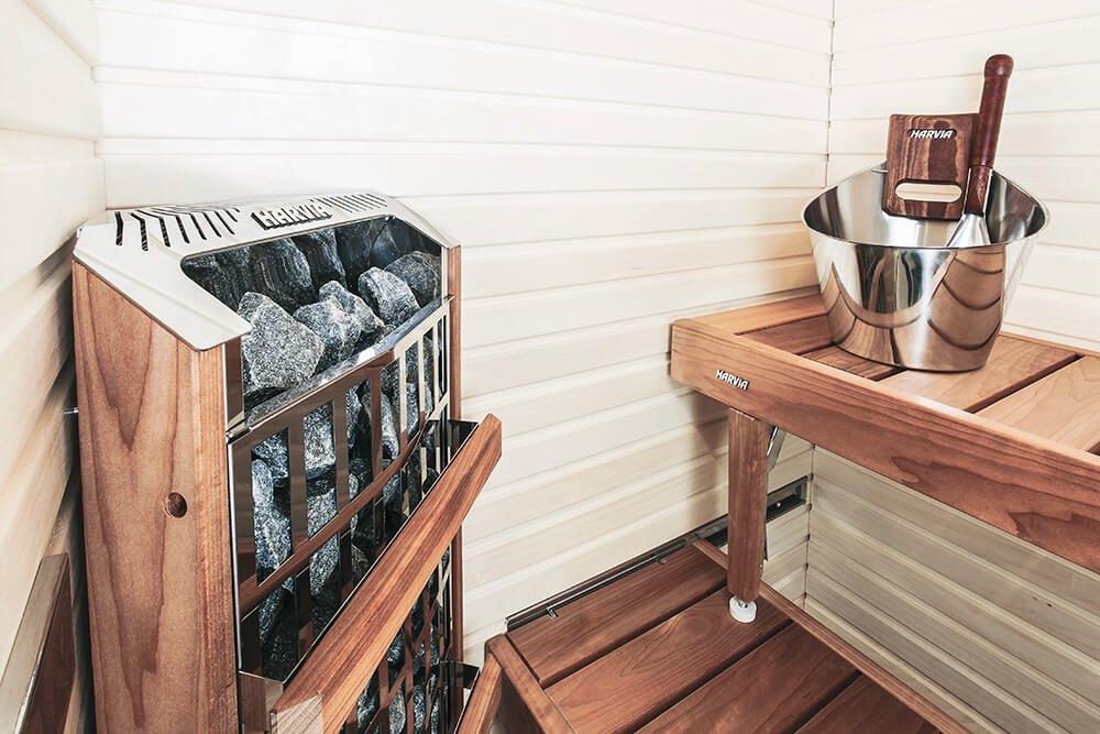 Набор аксессуаров для сауны из нержавеющей стали Harvia SA006