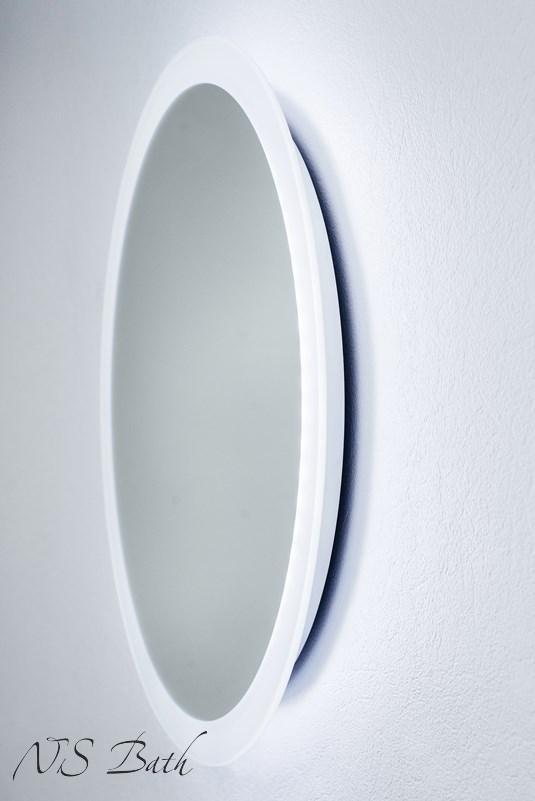 Круглое зеркало NSM-507 NS Bath с LED подсветкой