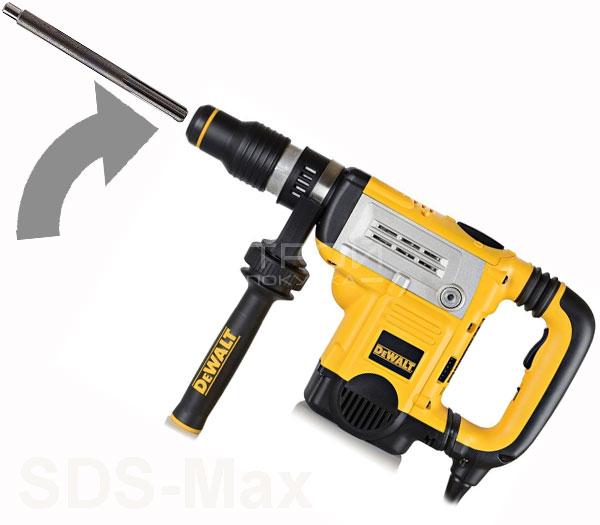 Насадка  SDS-Max с перфоратором.