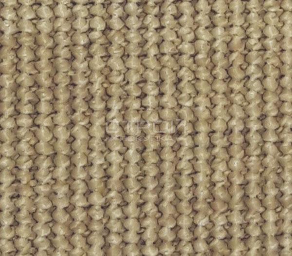 Фактура ковровой накладки Манила на ступеньки  темно-бежевого цвета.