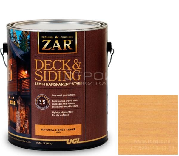 Semi-Transparant Deck & Siding Natural Honey полупрозрачное масло для дерева