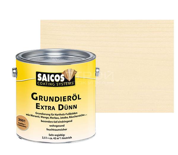 Бесцветная - Масляная грунтовка для древесины Grundierol Extra Dunn