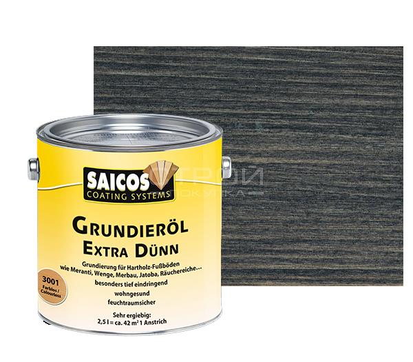 Черная прозрачная - Масляная грунтовка для древесины Grundierol Extra Dunn