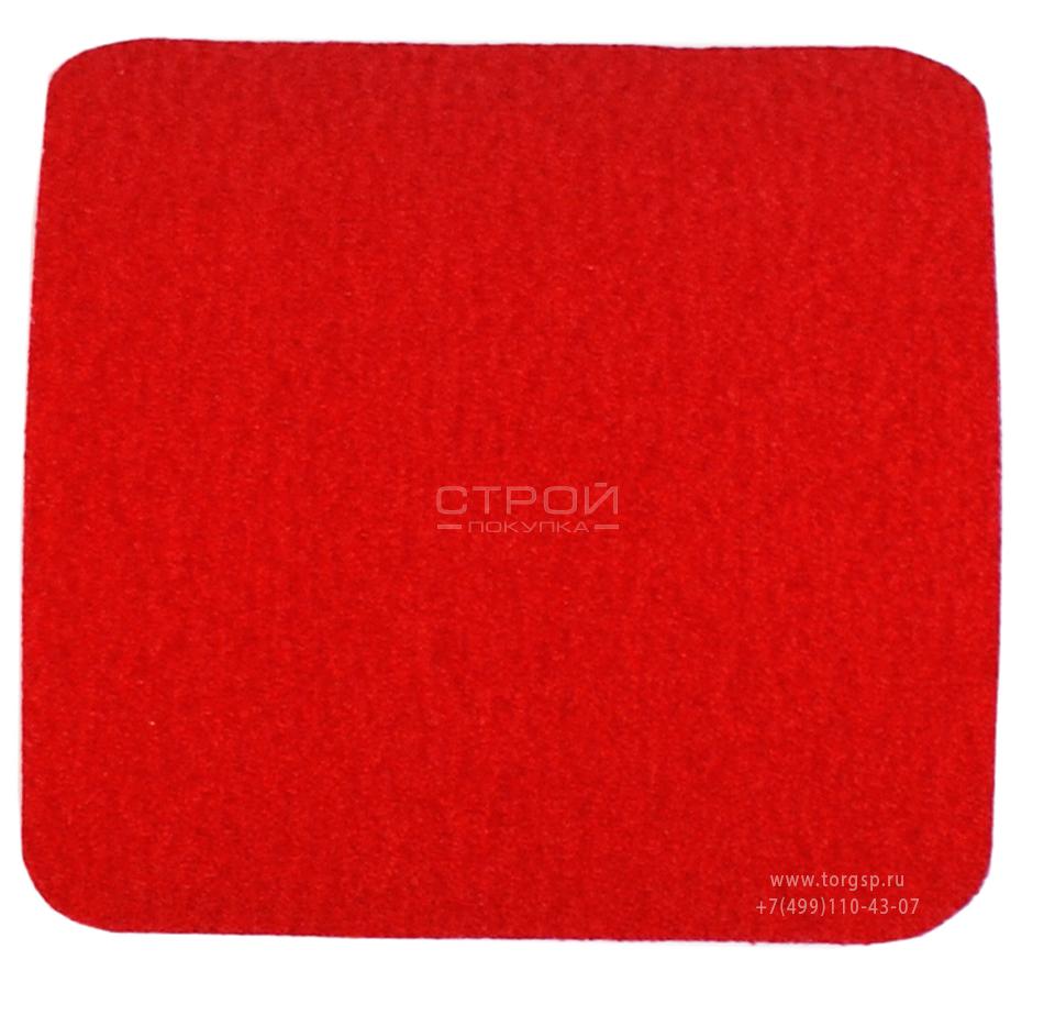 Красный квадрат противоскользящий 10х10 см Heskins