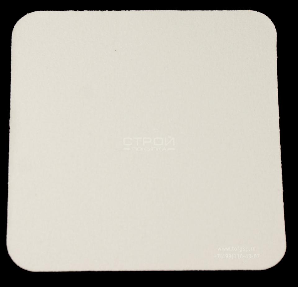 Белый квадрат противоскользящий 10х10 см Heskins