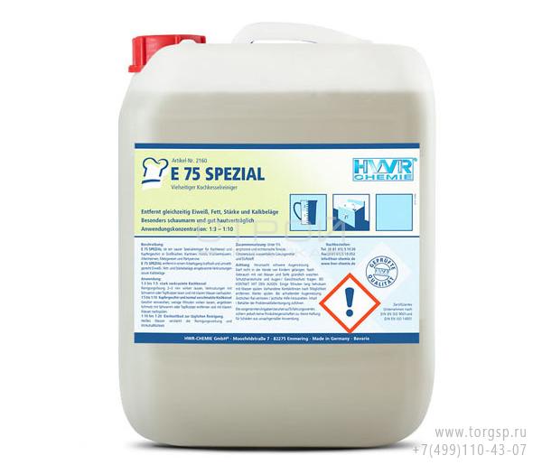 Очиститель известкового налета E 75 SPEZIAL в канистре 10 литров.