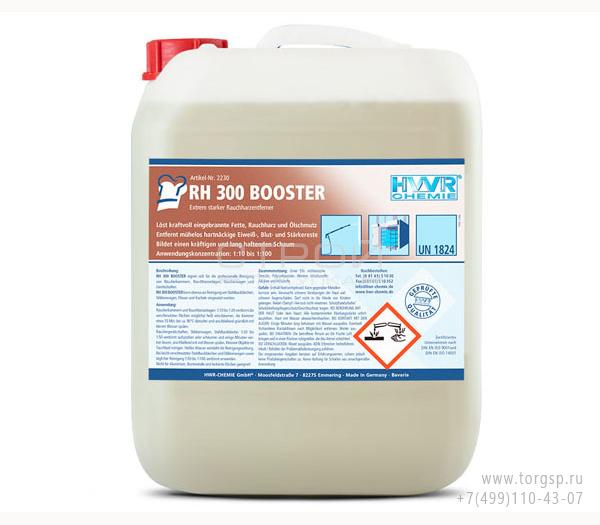 Очиститель копоти и сажи RH 300 Booster - средство для удаления особо прочных смол, концентрат 1: 100.