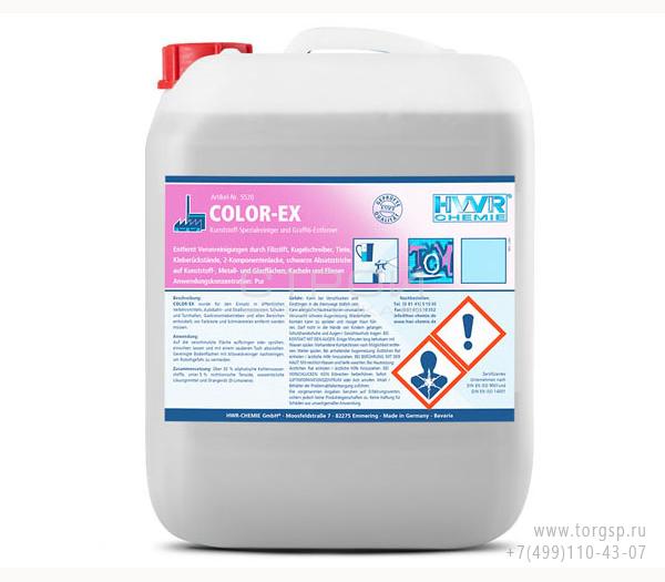 Средство для удаления граффити Color-EX - специальный очиститель для удаления краски и надписей.