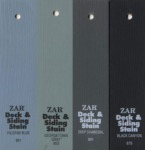 Выкрасы на досках Solid Color Deck & Siding Stain