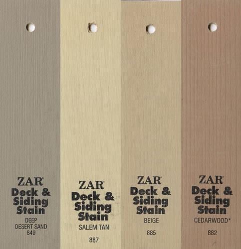 Коричневые выкрасы масла Solid Color Deck & Siding Stain