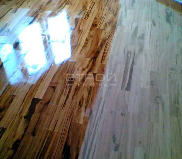 Паркетная доска покрытая защитным напольным покрытием Acryl Glanz Brilliant