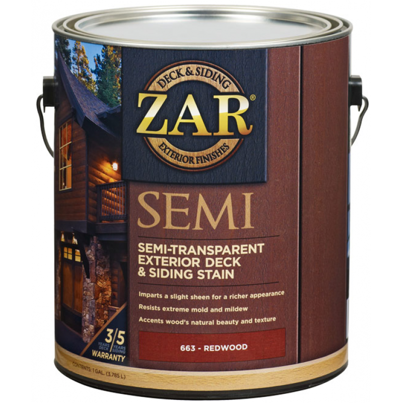 Полупрозрачное масло для дерева  Semi-Transparant Deck & Siding