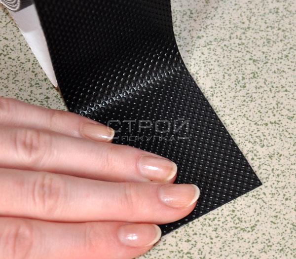 Тактильная лента в рулоне, шириной 2,5 и 5 см