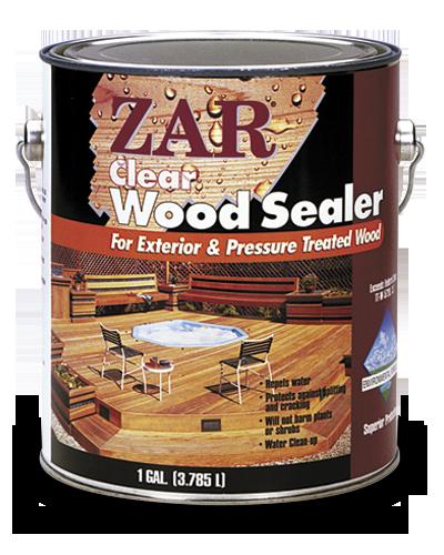 Водоотталкивающая пропитка для дерева Clear Wood Sealer