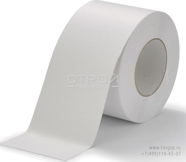 Белая виниловая противоскользящая лента Aqua Safe Heskins Ширина: 10 см