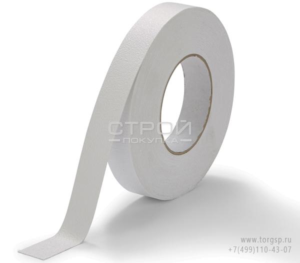 Белая виниловая противоскользящая лента Aqua Safe Heskins Ширина: 2,5 см