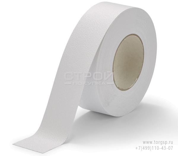 Белая виниловая противоскользящая лента Aqua Safe Heskins ширина: 5 см