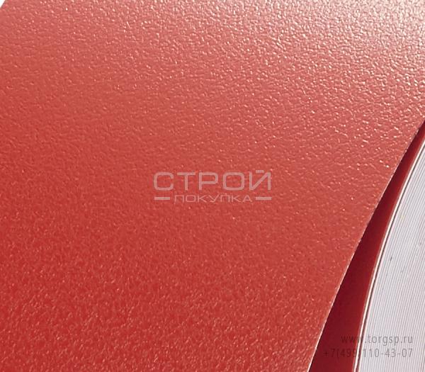 Красная лента виниловая самоклеющаяся H3408 Resilient Heskins с противоскользящим эффектом.