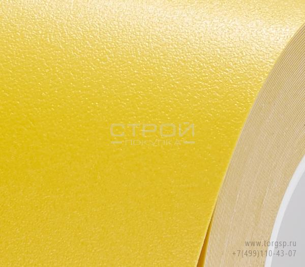 Желтая лента виниловая самоклеющаяся, противоскользящая Resilient h3408 Heskin