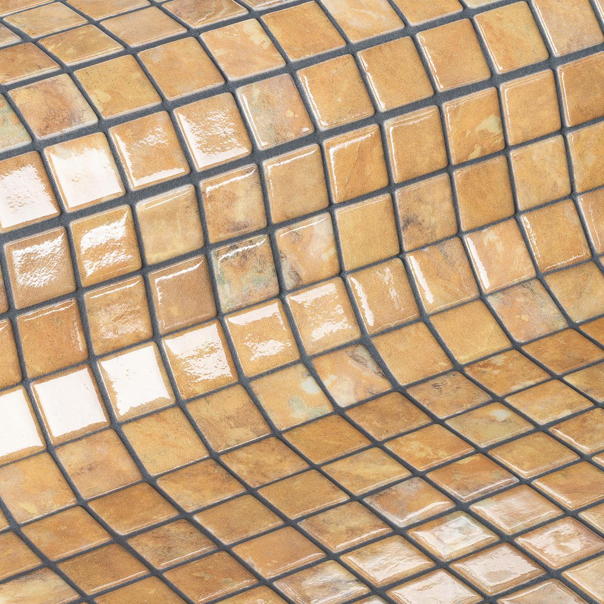 Стеклянная мозаика Garnet завода Ezarri из новой коллекции Gemma.