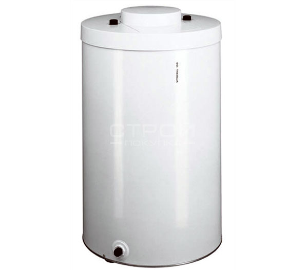 Бойлер viessmann vitocell 100 - вертикальный бак-водонагреватель, подставной, жемчужно-белый.