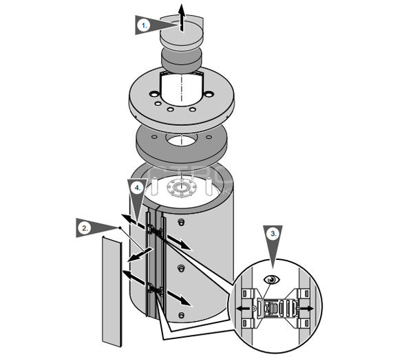 Информация об бойлере Viessmann Vitocell 100 W 100 л тип CUG.