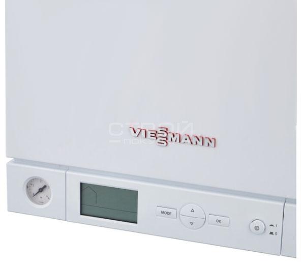 Панель контроллера котла Vitopend 100-W тип A1HB 34,0 кВт, 1-контурного, с закрытой камерой сгорания.
