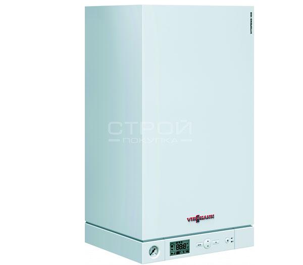 Газовый котел Vitopend 100-W тип A1HB 29,9 кВт, 1-контурный, с закрытой камерой сгорания (A1HB002) и интегрированной диагностической системой.