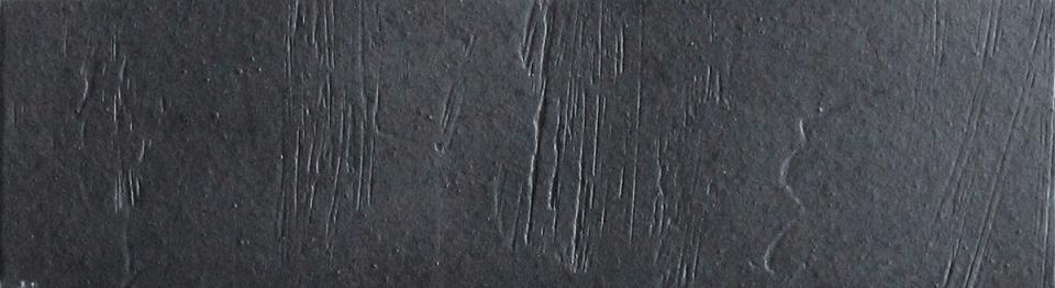 Плитка под кирпич DeKeramik Westerwald DKK 808-WS Обсидиан 240x71 мм NF водный штрих
