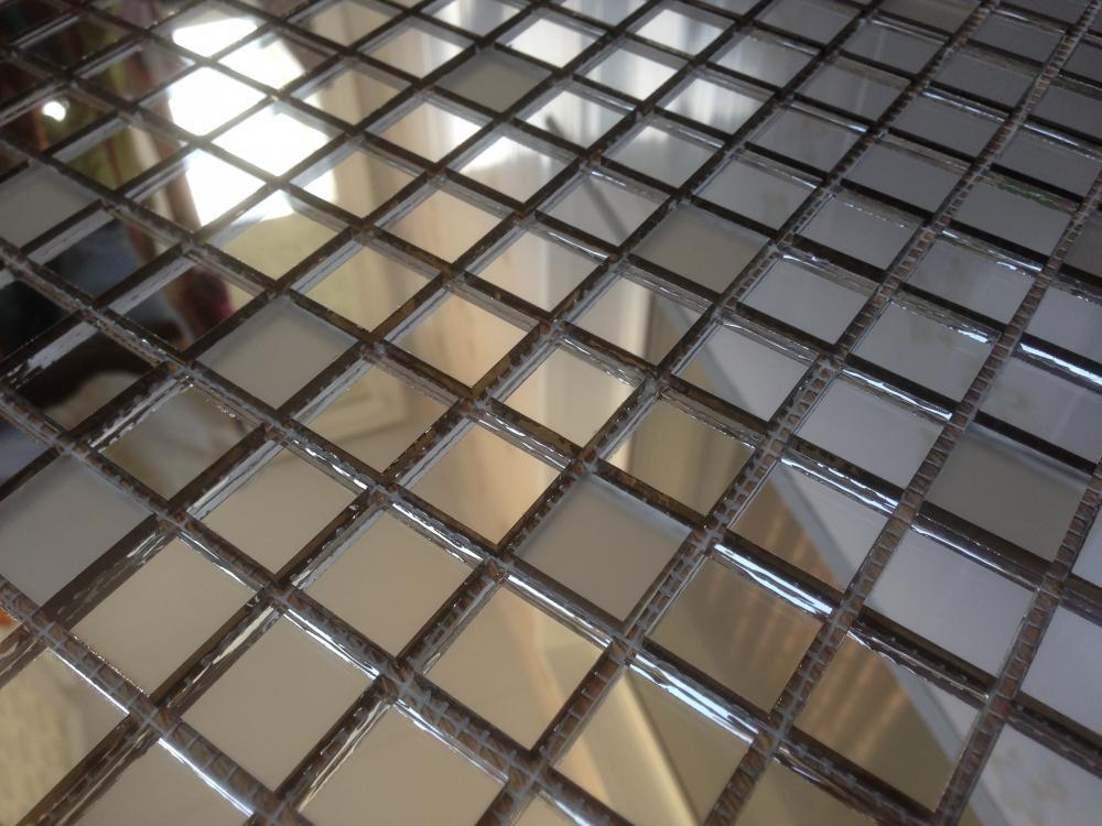 BL20 матовая бронзовая зеркальная мозаика Perla