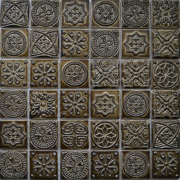 Керамическая мозаика KG4803 Melian коричневая