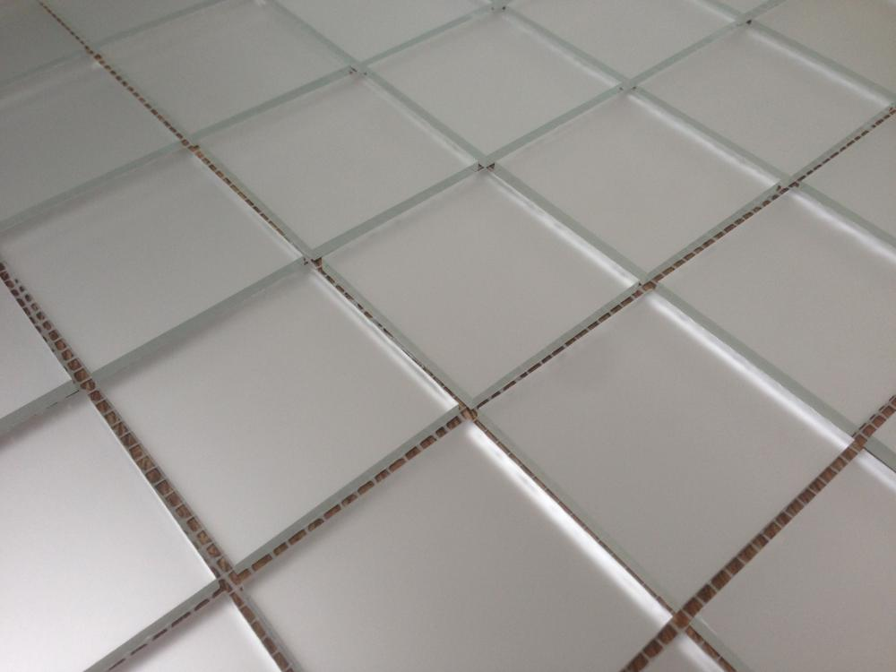 М50 матовая зеркальная мозаика Perla (серебро)