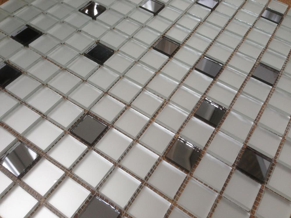 МD20 матовая зеркальная мозаика Perla