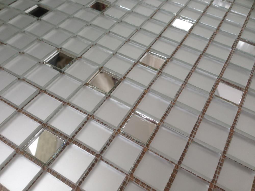 МS20 матовая зеркальная мозаика Perla