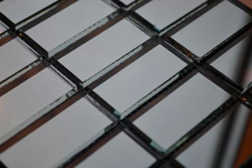 Графитовая мозаика D42 на сетке.