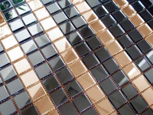 Зеркальная мозаика DG20-3 Deco