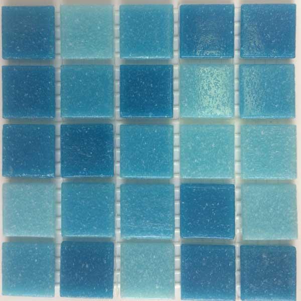 Мозаика MCD002 голубой микс - эконом