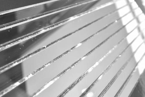 Серебряная зеркальная мозаика S300 на сетке.