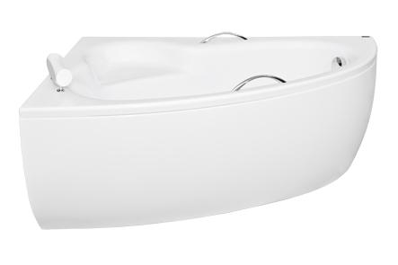 Вид сбоку на ванну Natalia 150 L