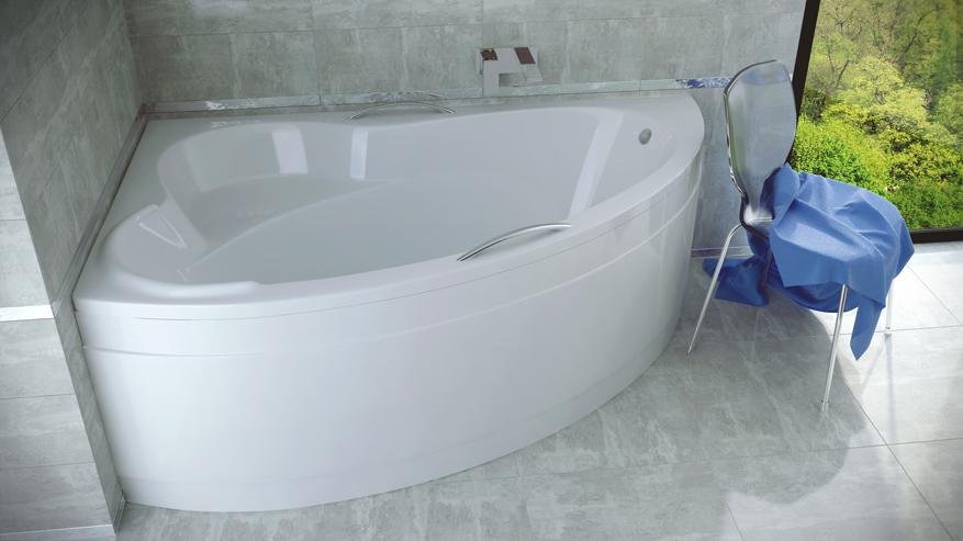 Акриловая ванная на заказ Ada Besco (140, 160, L/P).