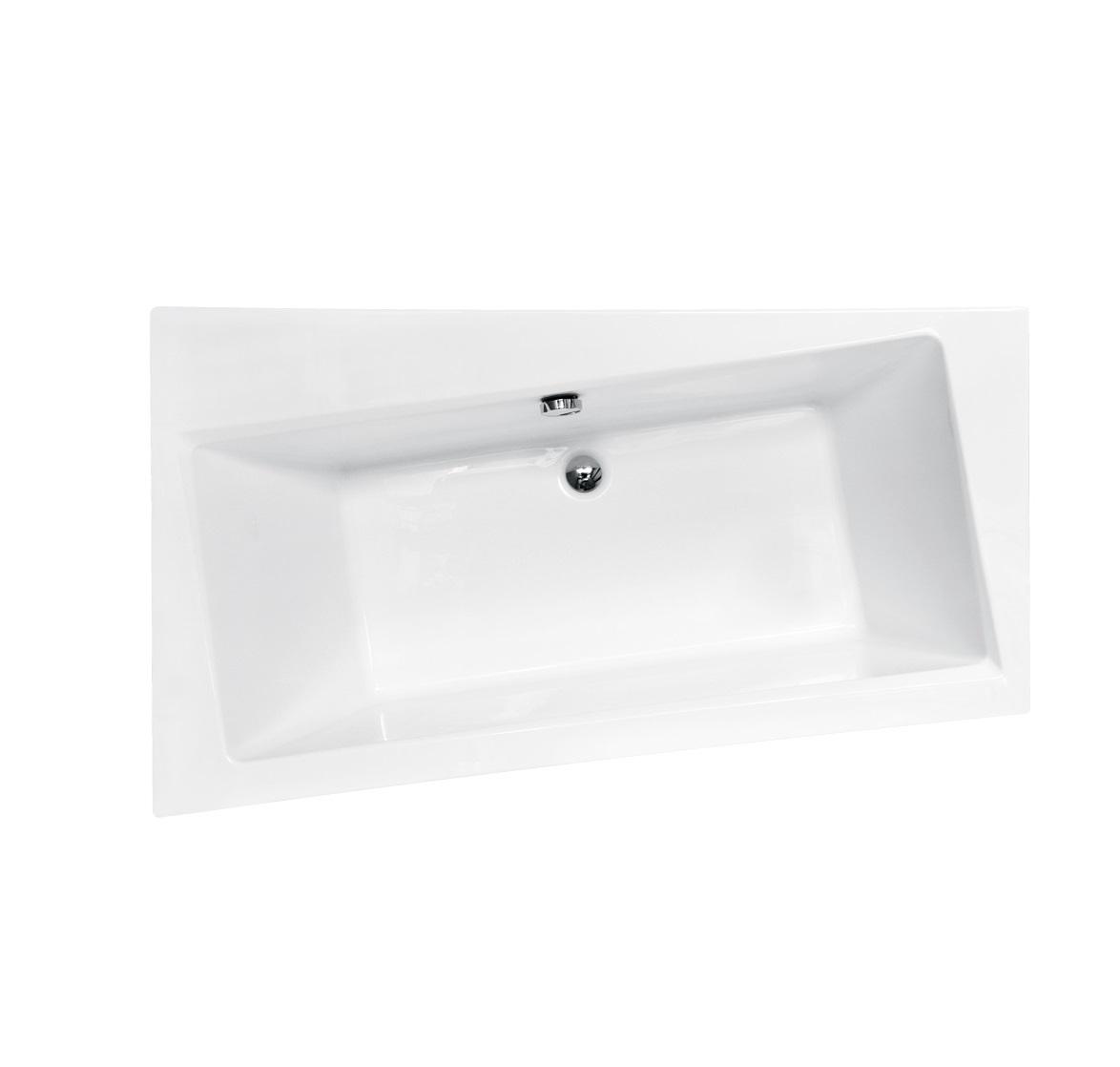 Акриловая ванна Infinity  Besco (150, 160, 170) вид сверху.