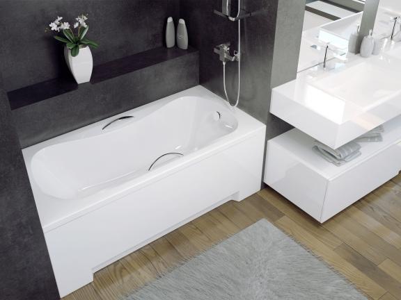 Маленькая акриловая ванная Aria (130, 140, 150, 160, 170).