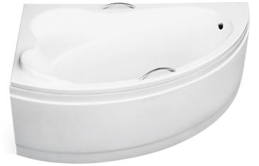 Акриловая ванная на заказ BESCO Ada вид сбоку.