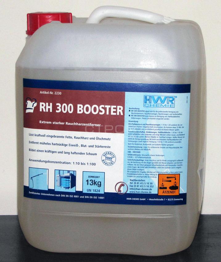 Канистра очистителя копоти и сажи RH 300 Booster - средства для удаления жиров, смол, масел.