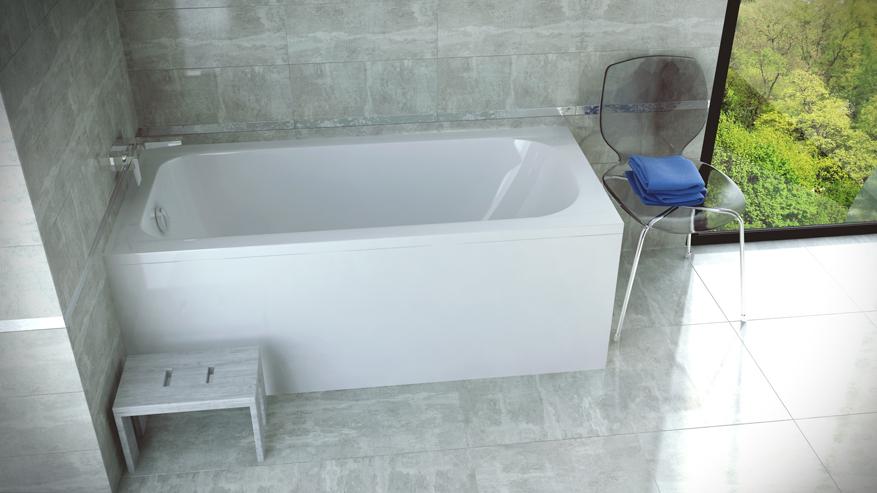 Ванна из санитарного акрила Continea Besco (2 размера).