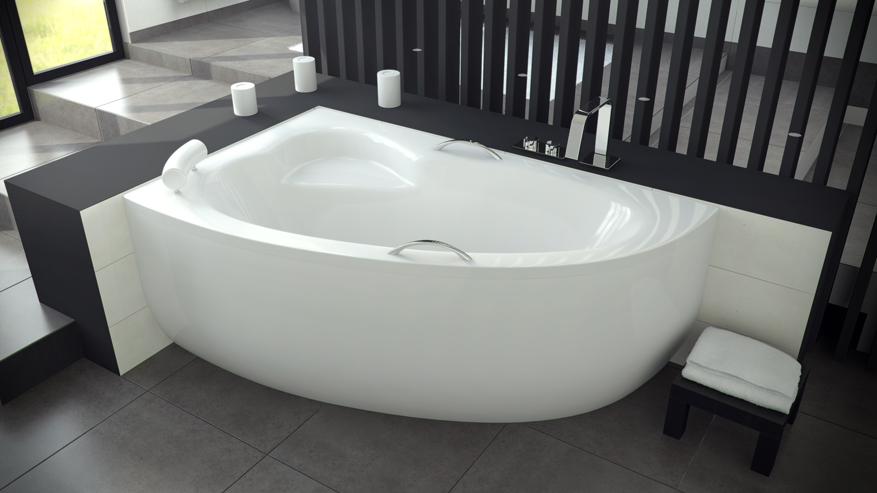 Асимметричная ванна Natalia 150