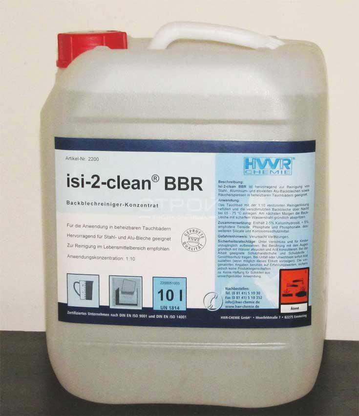 Концентрат для очистки противней Isi-2-clean-BBR.