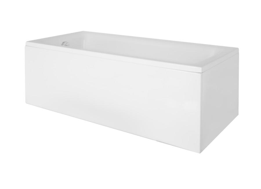 Маленькая акриловая ванна  Besco Talia   вид сбоку.