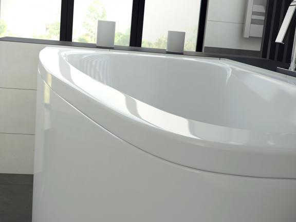 Ванна  Luna 150 L/P из санитарного акрила.